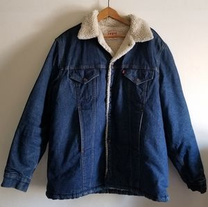 Vintage Levi's San Francisco sherpa jacket
